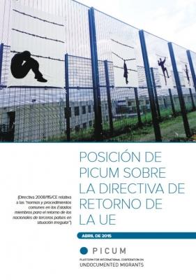 Posición de PICUM sobre la directiva de retorno de la UE (Abril de 2015) – ES