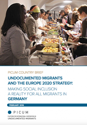 Undocumented Migrants and the Europe 2020 Strategy: Making Social Inclusion a Reality for all Migrants in Germany – EN