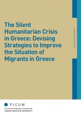 The Silent Humanitarian Crisis in Greece Devising Strategies to Improve the Situation of Migrants in Greece (March 2013) – EN