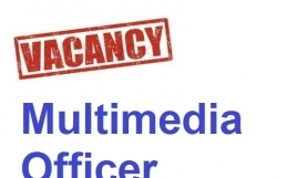 Vacancy: Multimedia Officer