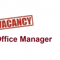 VACANCY: OFFICE MANAGER