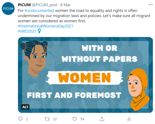 Check our tweet on International Women's Day