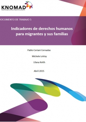 Indicadores de derechos humanos para migrantes y sus familias (Abril de 2015) – ES