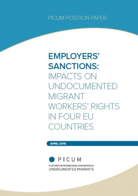 Employers' Sanctions: Impacts on Undocumented Migrant Workers' Rights in Four EU Countries (April 2015)