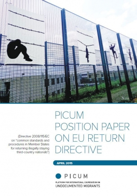 PICUM Position Paper on EU Return Directive (April 2015) – EN