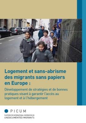 Logement et sans-abrisme des migrants sans papiers en Europe (Mars 2014) – FR