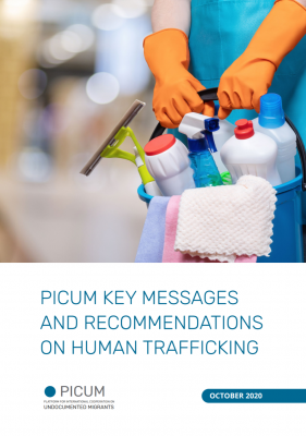 PICUM Key Messages and Recommendations on Human Trafficking – EN – October 2020