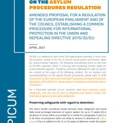 PICUM Recommendations on the Asylum Procedures Regulation – April 2021 – EN