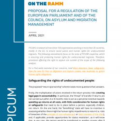 PICUM Recommendations on the RAMM – April 2021 – EN