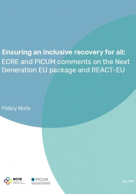 Policy Note on EU budget powering the recovery plan for Europe