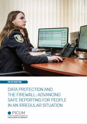 Data Protection and the Firewall: Advancing Safe Reporting for People in an Irregular Situation – March 2020 – EN