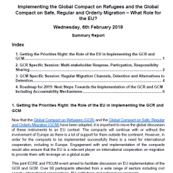 Implementing the Global Compact on Refugees and the Global Compact on Migration – What Role for the EU? Summary Report (6th February 2019)