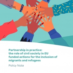 Partnership in practice: the role of civil society in EU funded actions for the inclusion of migrants and refugees – EN