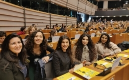 Formerly undocumented women address European Parliament to advocate for children's rights