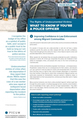 What to know if you are a Police Officer