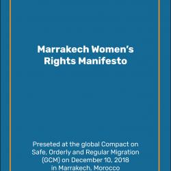 Marrakech Women's Rights Manifesto
